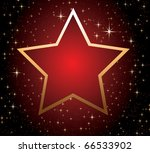 red star | Shutterstock .eps vector #66533902