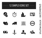 set of 12 editable complex...