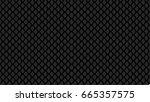 scales black dragon or cray...   Shutterstock .eps vector #665357575