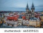 Prague Castle And Mala Strana...