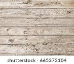 Weathered Wood Plank Boardwalk...