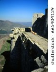 Small photo of Krak des Chevaliers, most famous Crusader castle,Syria