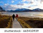 lofoten  norway   april 15 ... | Shutterstock . vector #665410939