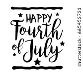 4th of july united states... | Shutterstock . vector #665453731