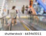 department store blur...   Shutterstock . vector #665465011