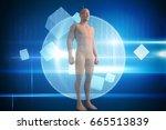 full length of composite brown...   Shutterstock . vector #665513839