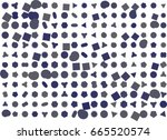 abstract background with shape... | Shutterstock .eps vector #665520574