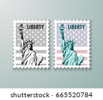 Vector Postage Stamps United...