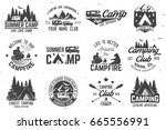 summer camp.  concept for shirt ... | Shutterstock . vector #665556991