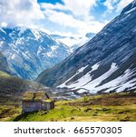 nature green land  | Shutterstock . vector #665570305