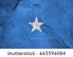 flag of somalia | Shutterstock . vector #665596084