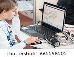 minsk  belarus. may  2017....   Shutterstock . vector #665598505