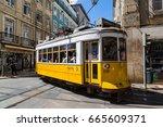 lisbon  portugal   may 18  2017 ... | Shutterstock . vector #665609371