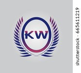 k w logo
