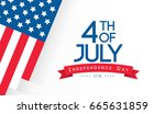 4th of july  happy independence ...   Shutterstock .eps vector #665631859