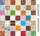big set stylish seamless... | Shutterstock .eps vector #66563704