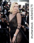 charlize theron attends the... | Shutterstock . vector #665643175
