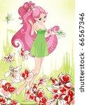 Little Beautiful Fairy On...