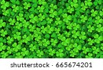 Clover Leaves Background....