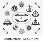 Nautical Logos Templates Set....