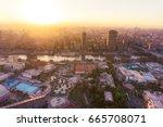 cairo   december 26  view from... | Shutterstock . vector #665708071