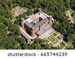 aerial view of the kamieniec... | Shutterstock . vector #665744239