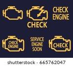 check engine | Shutterstock .eps vector #665762047