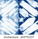 abstract batik tie dyed fabric... | Shutterstock . vector #665792227