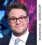 Small photo of LOS ANGELES - JUN 20: Seth Rogen arrives for the AMC Season Two 'Preacher' Premiere Screening on June 20, 2017 in Los Angeles, CA