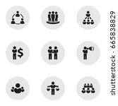 set of 9 editable community...