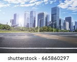 city road  | Shutterstock . vector #665860297