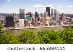 pittsburgh pennsylvania... | Shutterstock . vector #665884525