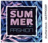 summer fashion poster.