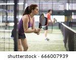 couiple go to net to attck...   Shutterstock . vector #666007939