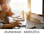 coworking process photo....   Shutterstock . vector #666012511