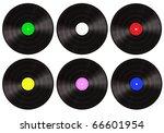 vinyls record | Shutterstock . vector #66601954