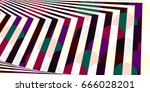 geometric pattern background  | Shutterstock . vector #666028201