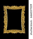 blank decorative picture wall... | Shutterstock . vector #666037039