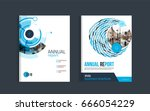 brochure layout design template ... | Shutterstock .eps vector #666054229