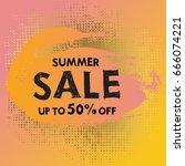 store pop art label design   Shutterstock .eps vector #666074221