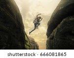 travel camping  travel picnic... | Shutterstock . vector #666081865