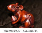 Cute Wooden Carved Polished...