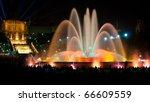 Magic Fountain Of Montjuic...