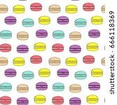 seamless vector pattern... | Shutterstock .eps vector #666118369