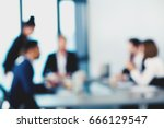 blurred background with... | Shutterstock . vector #666129547
