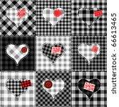 seamless background pattern.... | Shutterstock .eps vector #66613465