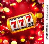 big win slots 777 banner casino ... | Shutterstock .eps vector #666138619