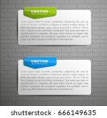 banner presentation  vector... | Shutterstock .eps vector #666149635