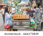 editorial use only  tasty and...   Shutterstock . vector #666173839