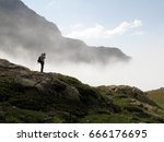 the demirkapi mountains located ... | Shutterstock . vector #666176695